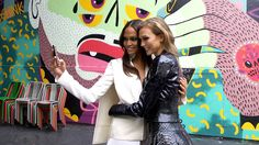 Joan Smalls and Karlie Kloss shoot for House Of Style with the Cinemagraphs team.