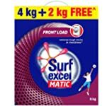 Surf Excel Matic Top Load Detergent Powder, 3 Kg + 1 kg Free: Amazon.in: Health & Personal Care Mustard Oil, Laundry Detergent, Surfing, Snack Recipes, Powder, Personal Care, Amazon, Health, Top