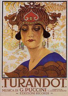 Leopoldo Metlicovitz (1868-1944), Turandot - 1926