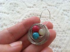 MOPS Beautiful Mess 2013: Bird Nest Necklace: a MOPS craft tutorial