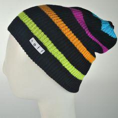 Daily Stripe Beanie Hat  VillageHatShop Knit Beanie Hat beef6d37ed