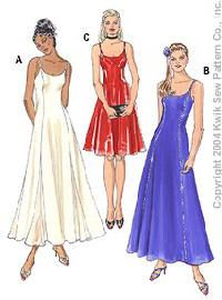 Misses Dresses Kwik Sew Sewing Pattern No. 3294