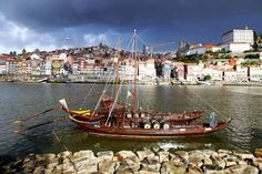 Porto Photos at Frommer's - Porto, Portugal, seen from the banks of the Douro River.