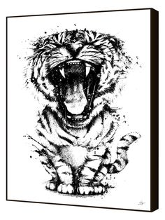 Curioos Meowr by CJ del Rosario (Framed Giclee)