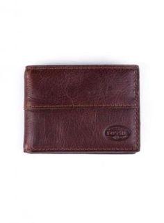 Billetera Fossil Dillon Clip Bifold Men's Wallet Dark Brown #Hombre #Accesorios #ClubJ #Moda