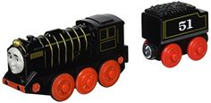 Fisher-Price Thomas & Friends Wooden Railway, Hiro – Battery Operated  Battery Hiro Thomas can move around the track on his ownDie-cast engine with easy on/off switchWorks great with any Thomas and Friends Wooden Railway set  http://dailydealfeeds.com/shop/fisher-price-thomas-friends-wooden-railway-hiro-battery-operated/