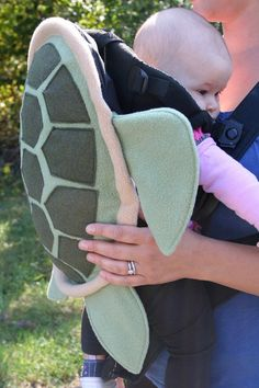 Sea Turtle Shell Baby Carrier Cover Accessory by NaturallyCraftyShop  Bjorn Ergo Infantino