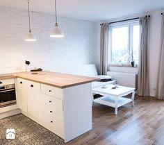 Jak urządzić kuchnię z salonem w bloku? - Homebook.pl