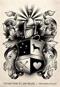 Family Crest Tattoos | Tattoo Design - Tattoo Pictures