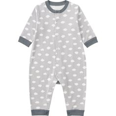 BABY LONG SLEEVE ONE PIECE OUTFIT