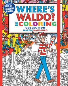 Wheres Wally The Colouring Collection Book Cover
