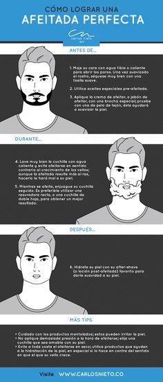 #EstiloCN Cómo lograr una afeitada perfecta