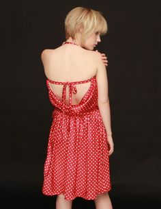 Spunky Polka Dot Peni May Wrap Dress S to L by staciemay on Etsy, $69.99