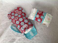 Diaper / wipes clutch or strap.