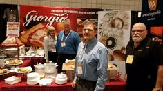 Trade show exhibit by Giorgio Foods! Wonderful savory tortes, regalinos and nidos by Giorgio Foods, booth 5050 in the #PaPavilion #SFFS15 @tradePA #WorldTradeCenterHarrisburg