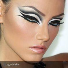 "marleneaymone: by @hagaiavdar ""Photography and Makeup : Hagai avdar"