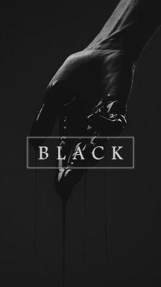 Black Wallpaper Aesthetic Wallpapers Colorful Tumblr