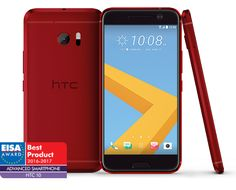 HTC 10 Carbon red