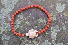 Garnet Jewelry, Amethyst Bracelet, Bracelets For Men, Beaded Bracelets, Crystal Gifts, Red Jasper, Hippie Chic, Boho Chic, Bracelet Making