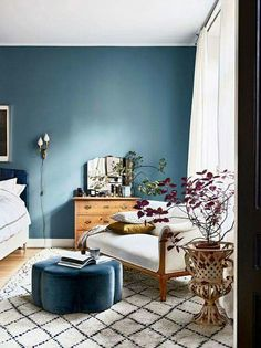 Nice Blue Walls Living Room with Best 25 Blue Bedroom Walls Ideas On Home Decor Blue Bedrooms 4833 is among pictures of Living Room concepts for your house Bedroom Colors, Home Decor Bedroom, Bedroom Ideas, Serene Bedroom, Bedroom Modern, Trendy Bedroom, Diy Bedroom, Bedroom Colour Schemes Blue, Jewel Tone Bedroom