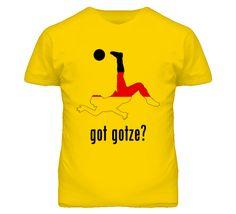 Mario Gotze Germany Mf Kick Football Soccer World Cup T Shirt