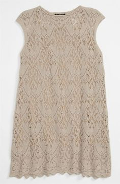 Sisley Young Pointelle Knit Dress