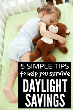 If the mere thought of daylight savings leaves you in a cold sweat, this collection of 5 simple tips to help you survive daylight savings is for you!