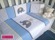 Ellie & Owl Cot Set