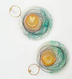 Sunrise earrings Unique resin art by NOMBRE D'OR Inspiration : #sunrise , #seaandsun #summer Resin Art, Jewelry Art, Crochet Earrings, Instagram, Unique, Inspiration, Biblical Inspiration, Inspirational, Inhalation