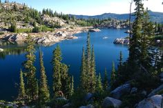 Hike to 3 lakes on this 3.5 mile hike in the Uinta-Wasatch-Cache National Forest. This hike is relatively easy as it does not include summiting the peaks.