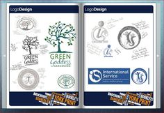 Logo design - hand drawn logo converted to digital format.