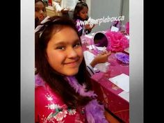 Mobile Tween Spa Birthday Party Spa Birthday Parties, Star Party, Spa Services, Super Star, Tween, Purple, Box, Makeup, Make Up