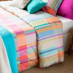 MULTICOLORED PLAID BEDDING - Bedding - Bedroom | Zara Home United States of America