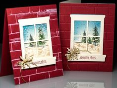 Fausse neige Stampin' Up! - YouTube