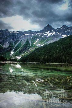 Reflections On Avalanche Lake, Montana