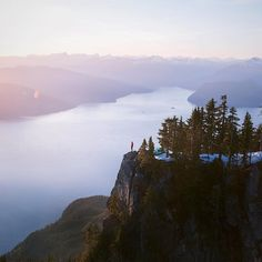 Perhaps one of the best views in the city.  Photo taken at St.Mark's Summit in Cypress Provincial Park by @jamieout.  #exploreBC #exploreCanada #BCParks by hellobc