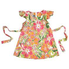 8dc967fb35fd1 Seaglass Orange Hawaiian Girl Rayon Dress. Girls Hawaiian DressHawaiian  OutfitsFlower ...