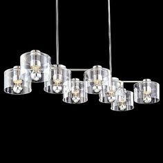 Transparence 8-Light Rectangle Chandelier by SONNEMAN Lighting at Lumens.com