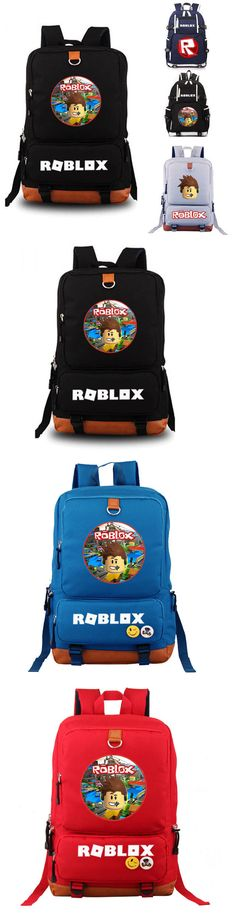 Backpacks and Bags 57882: Roblox School Bag Backpack Student School Bag  Notebook Backpack Different Design