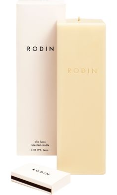 Rodin candle