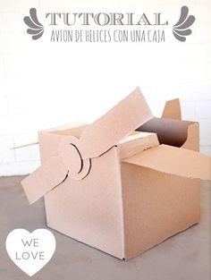 Tutorial : Avión de hélices con una caja