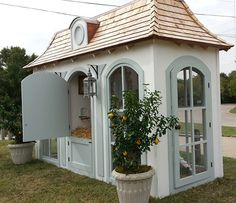wow what a chicken coup neiman marcus hen house. Fancy Chickens, Keeping Chickens, Raising Chickens, Chickens Backyard, Urban Chickens, Chicken Coup, Chicken Lady, Fancy Chicken Coop, Neiman Marcus Christmas Book