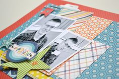 Aly Dosdall: winter collections winner + teen boy scrapbook pag...