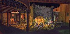 Pirates of the Caribbean, Disneyland - Marc Davis