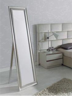 espejo vestidor de pie, espejos rectangulares para el dormitorio, espejos vestidores para el dormitorio.