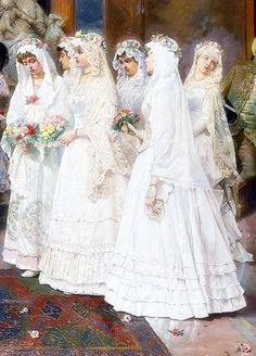 """ The wedding, Detail. by Giulio Rosati """