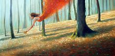 Autumn gathers her own by Jimmy Lawlor - PRINT