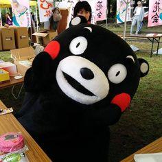 #kumamon#kumamonthailand#kumamonland#kumamoto#mascot#JAPAN#kwaii#cute#happy#bear#คมะมง#หมอวนดำ#หมดำ by aum_nitinun