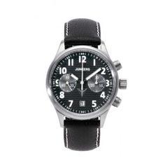 cfc4d58e5dbd Reloj Junkers 6216-2 Mecánico Corrugated Sheet Negro Cronógrafo