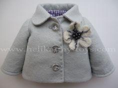 EL ARMARIO DE MIS MUÑECAS, ropa y complementos: TUTORIAL Y PATRONES para abrigo de muñeca